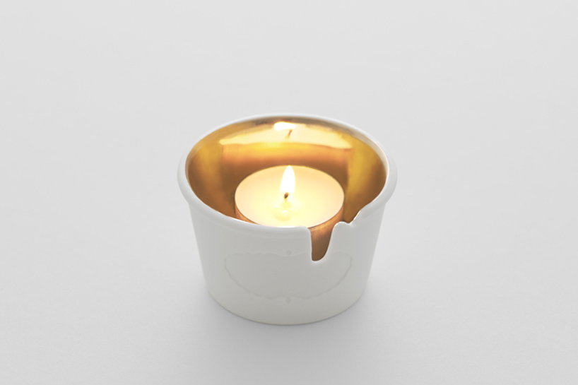 Nendo Aromatherapy Candle Holder For Haagen Dazs