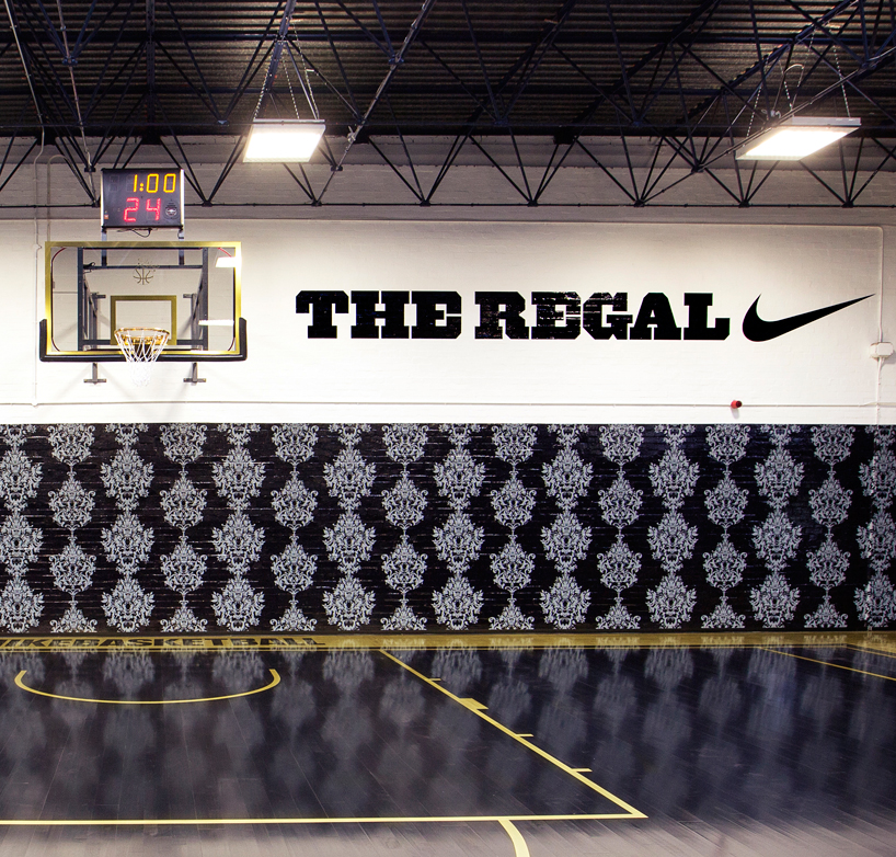 Under The Sea Wallpaper Hd Nike Hotel The Regal Basketball Court London