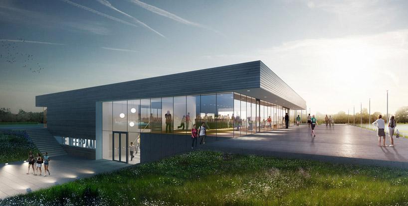 Moederscheim Moonen Architects Multi Purpose Sports Facility
