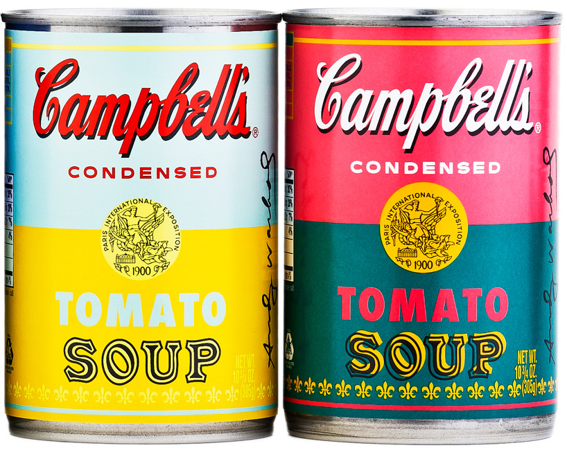 andy warhol limited edition campbell\u0027s soup can labels