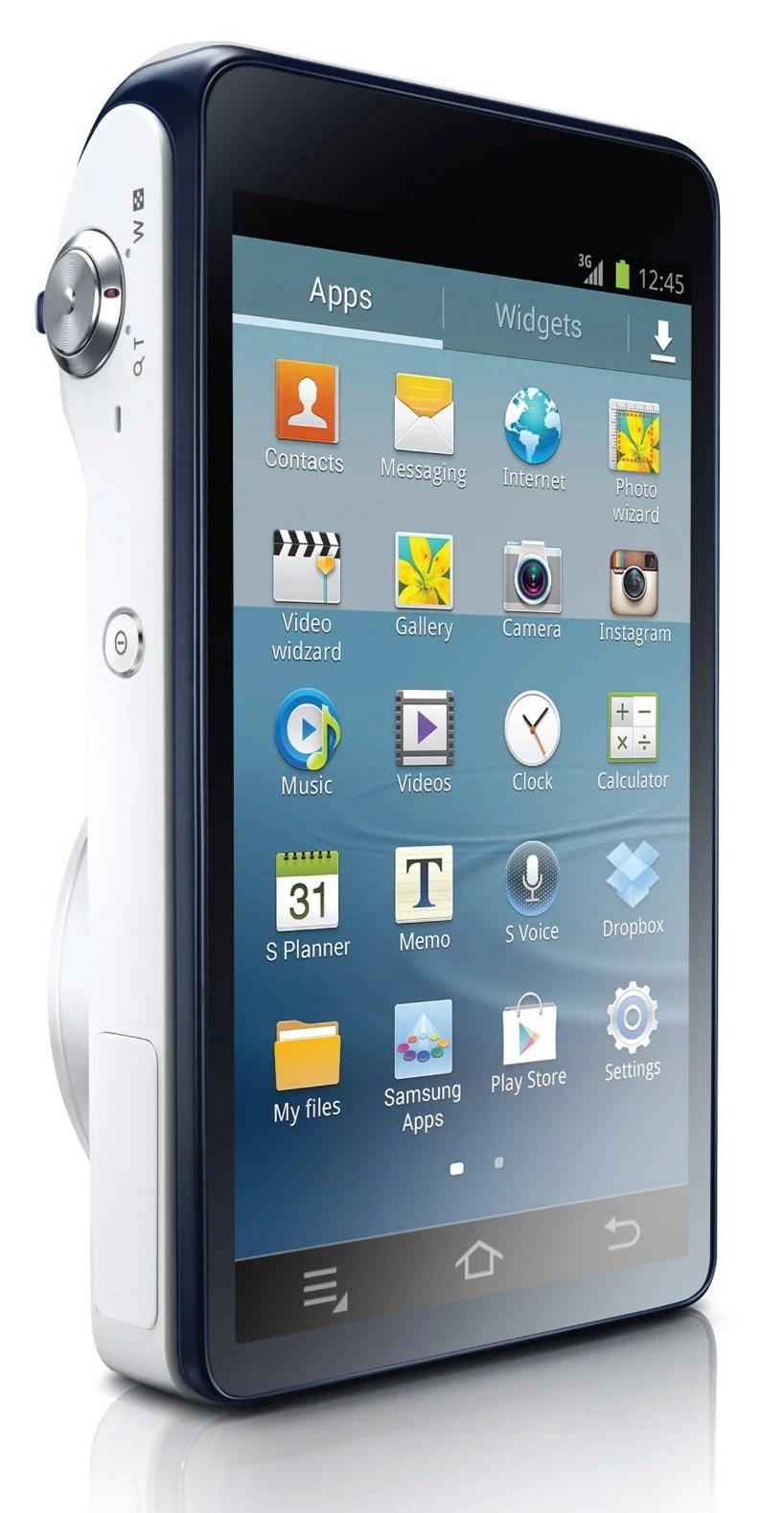 Diverting Android Powered Samsung Galaxy Digital Camera Samsung Camera App Remote Viewfinder Samsung Camera Application dpreview Samsung Smart Camera App