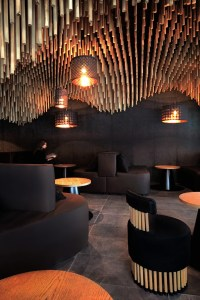 parametric and oriental meet together in hookah bar by ...