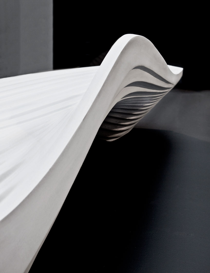 Fireplace 3d Wallpaper Zaha Hadid Serac Bench For Lab 23