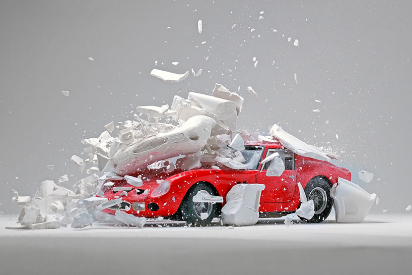 Toy Car Wallpaper Fabian Oefner Explodes Views Of Classic Sports Cars