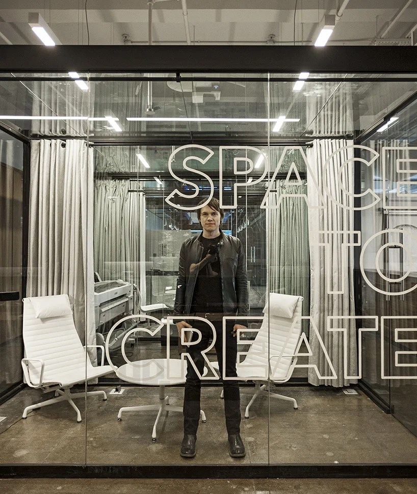 fiftythree's new york office features transparent spaces