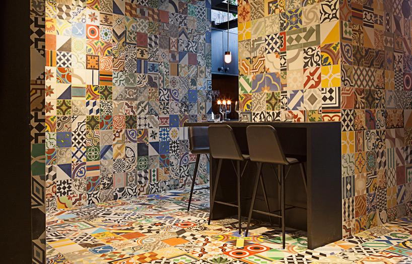 3d Grey Brick Wallpaper Big Partners Bjarke Ingels Jakob Lange Design Copenhagen