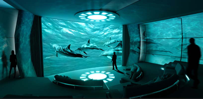 Buy 3d Wallpaper Panels Nemo Room Imax Private Theater Is The First On A Superyacht