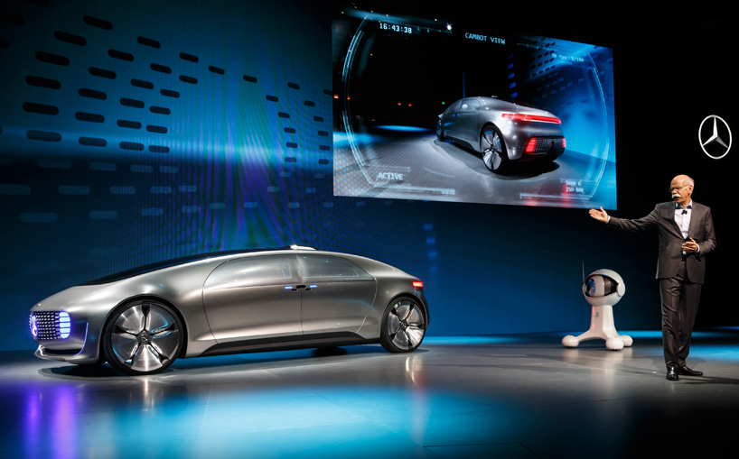Elon Musk Car In Spac Wallpaper Mercedes Benz F 015 Self Driving Luxury Sedan Concept