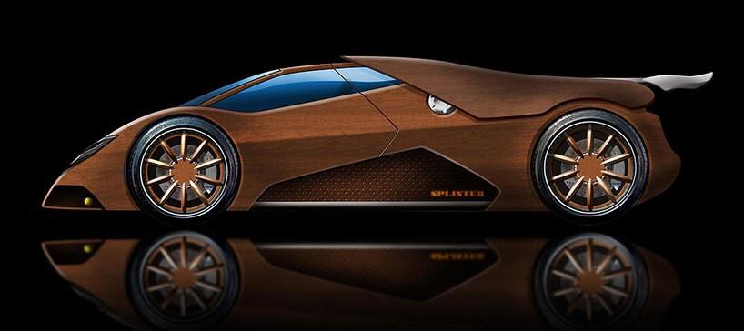 Audi Sports Car Wallpaper Joe Harmon Takes Five Years Building Wooden V8 Powered