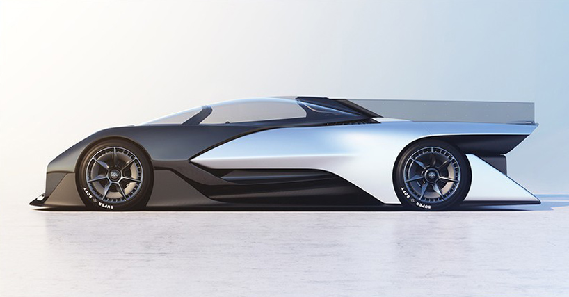 faraday future unveils FFZERO1 concept car at CES 2016 - vehicle release form