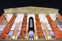 ai weiwei wraps berlin's konzerthaus with 14,000 life jackets