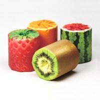 kazuaki kawahara's the fruits toilet paper packaging