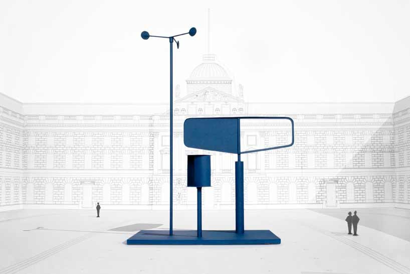 barber osgerby presents wind-powered forecast installation at inaugural london design biennale