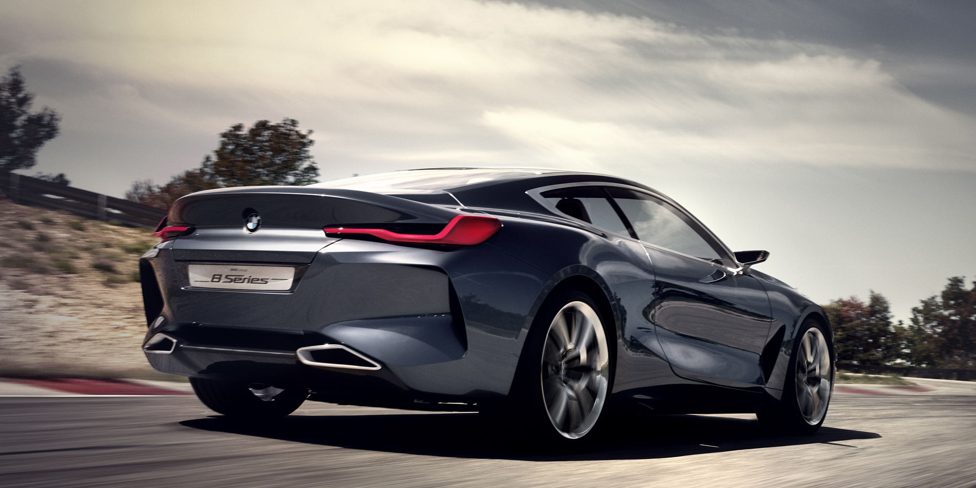 Bmw Concept Car Wallpaper Bmw S Newly Revealed Concept 8 Series Is A Modern Day Coupe