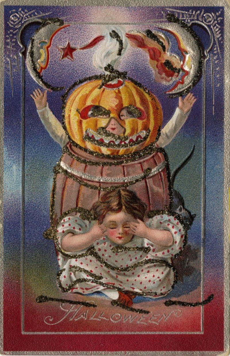Large Of Vintage Halloween Cards