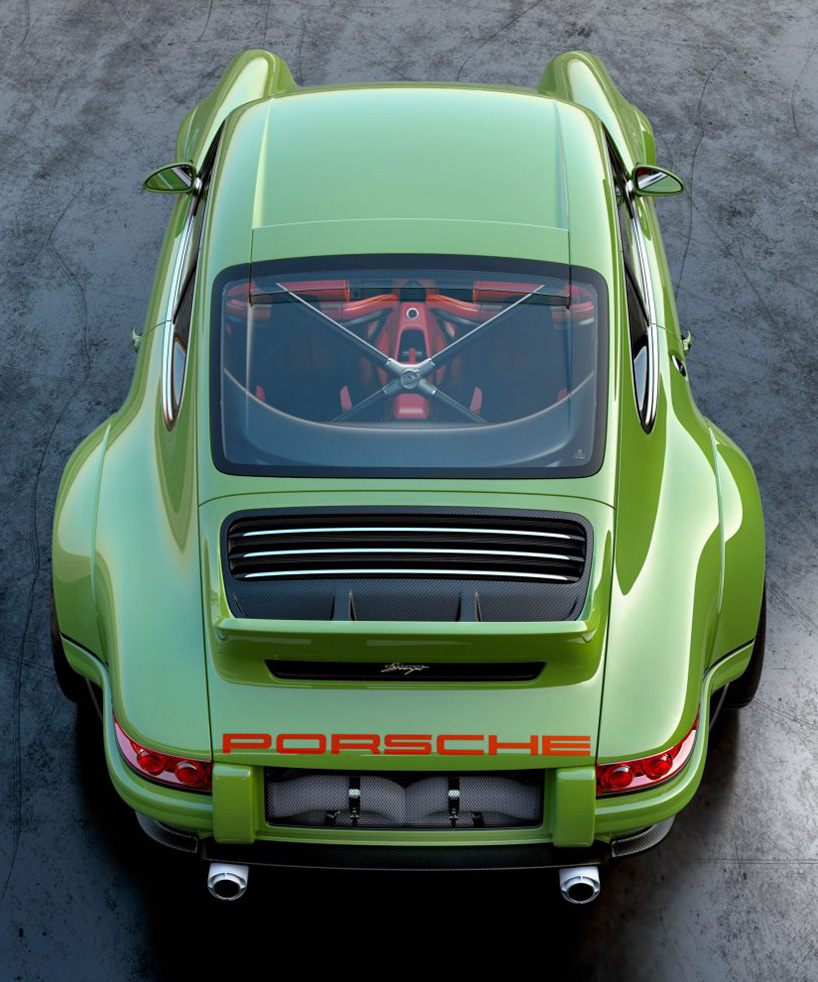 Modified Sports Car Wallpaper Porsche 964 Dls Custom Coup 233 By Singer Vehicle Design