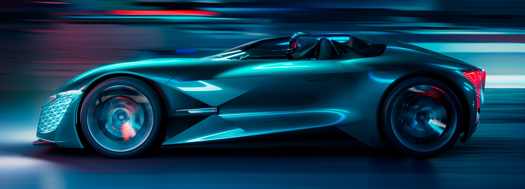 Electric Wallpaper 3d A Look Under The Hood Of The Ds X E Tense The Car From 2035