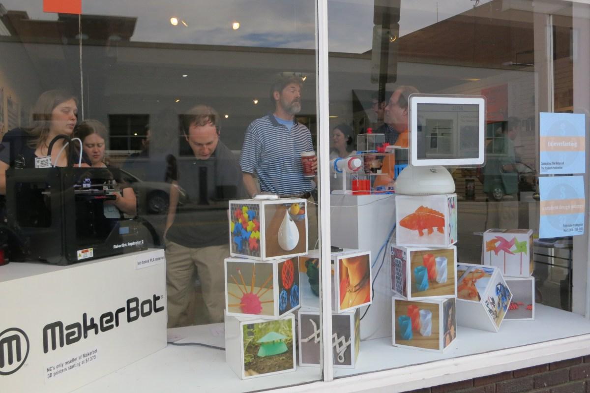 May First Friday: Makerbot