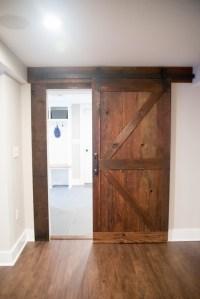 Barn Style Sliding Passage Doors - Design Build Planners