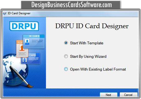 ID card maker software design photo security student identification - student identification card