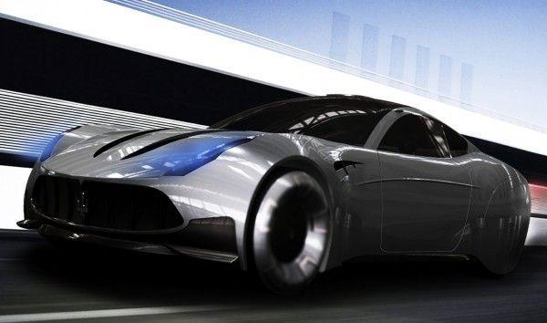 2020 Maserati GranTurismo concept