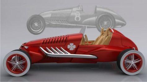 alfa 308 speedster concept 01