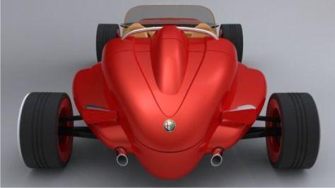alfa 308 speedster concept 06