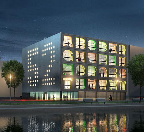 alphabet building by mvrdv