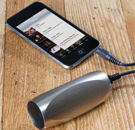 aluminum sound tube mp3 speaker  03