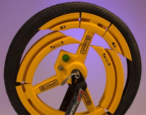 Anti-Theft Bike Wheel