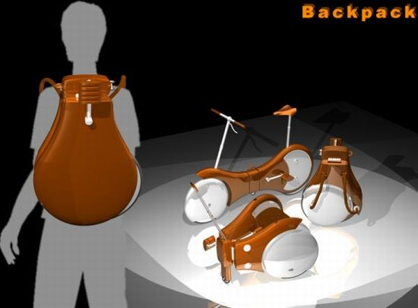 Backpack Bike