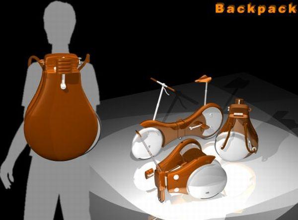 Backpack Bike