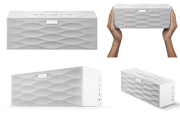 Big Jambox in White Wave finish