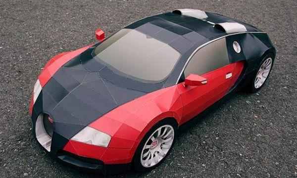 Bugatti Veyron Paper Editio