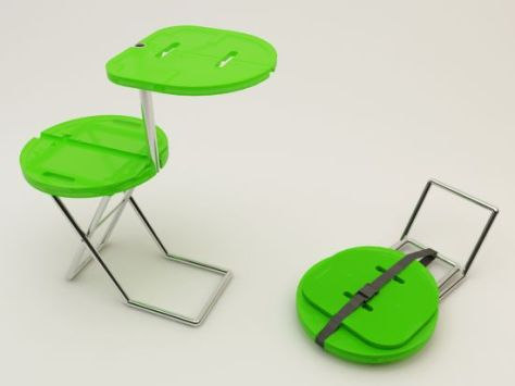 camping chair table concept 03