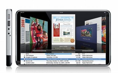 Chris Messina Apple iPad Touch concept