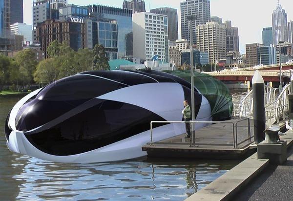 Crescasa Concept Houseboat