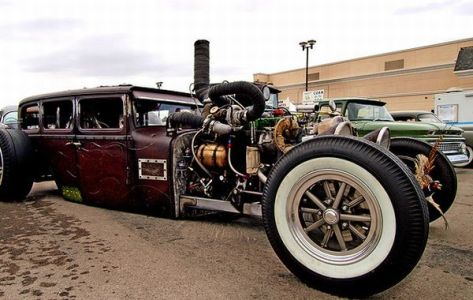 Cummins Steampunk Rod