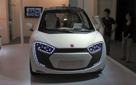 Cylent city car concept