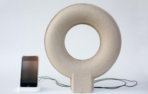 Doughnut-shaped Pulpop MP3 speaker
