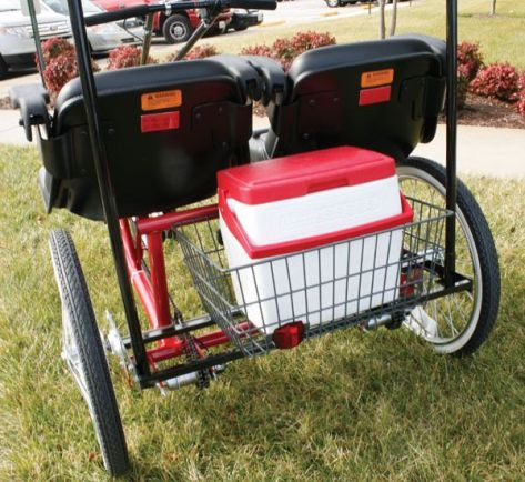 dual seat adult tricycle 03