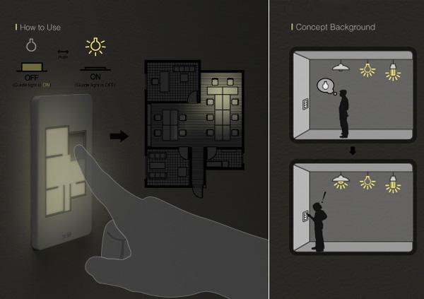 Floor Plan Light switch