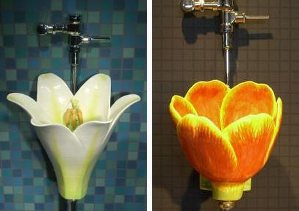 Flower Urinals