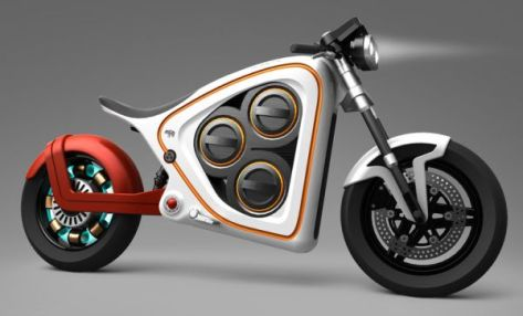 Frog Rana 2 electric motorcycle