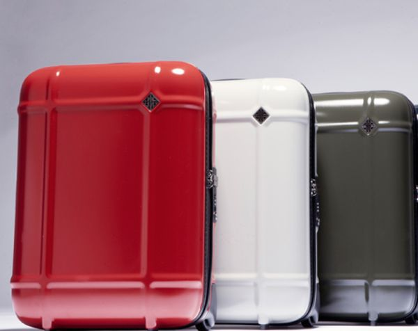 Globe limited edition suitcase