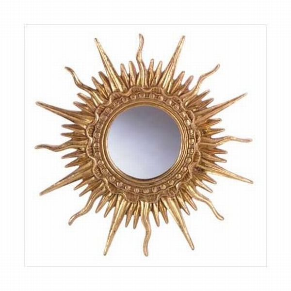 Golden Sun Ray  Mirror