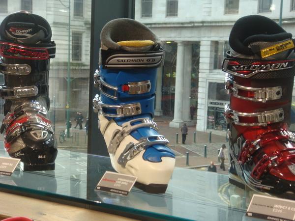 Heated Ski Boot
