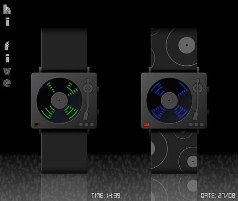 Hi-Five LED watch