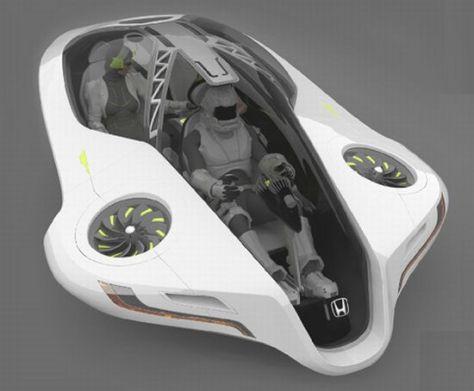 honda flying car