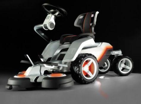 husqvarna electric lawnmower   1